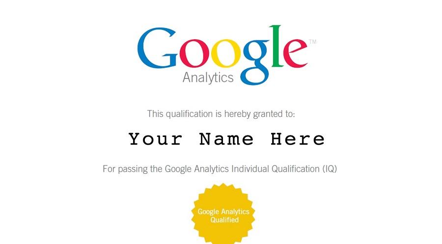 Google certification 2